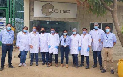 Empezamos los trabajos de control para combatir enfermedades en cultivo de banano