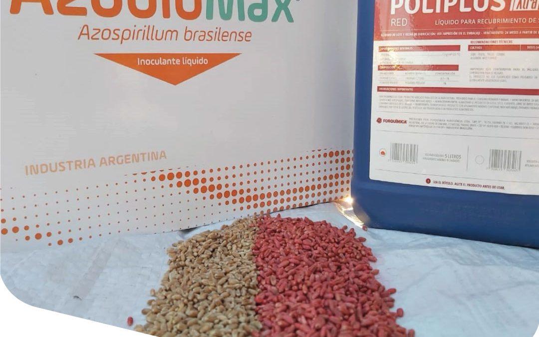 Realizamos Tratamiento Profesional de semillas con la firma Del Fabro Hnos y Cia S.A.